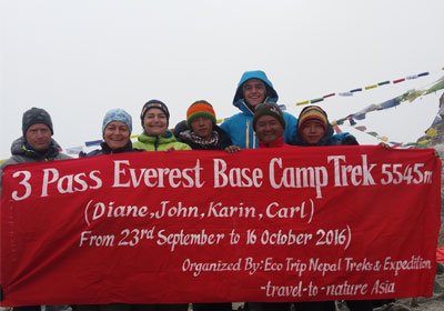 Everest kala pattar trekking