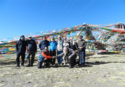 Adventure three base camp Tibet