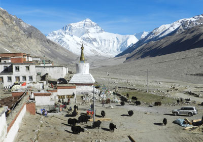 Ultimate bicycle Tibet tour